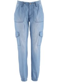 Stretchjeans «Wijd», bpc bonprix collection, blue bleached
