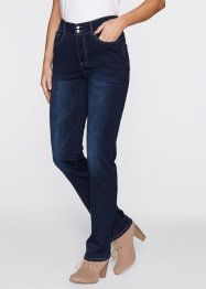 Push-upjeans «recht», bpc bonprix collection, dark denim