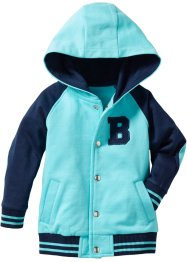 Baseballjack, bpc bonprix collection, donkerblauw/aqua