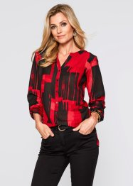 Longblouse, bpc selection, rood/zwart