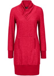 Sweatjurk, bpc bonprix collection, rood gemêleerd