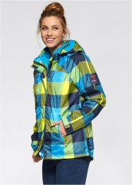 3in1-outdoorjack, bpc bonprix collection, donkerblauw geruit
