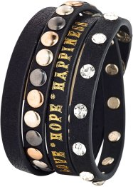Armband, bpc bonprix collection, zwart