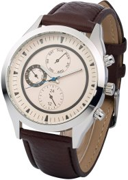 Herenhorloge, bpc bonprix collection, bruin