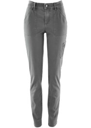 Broek, bpc bonprix collection, rookgrijs