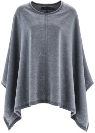 Poncho, bpc bonprix collection, grijsblauw used