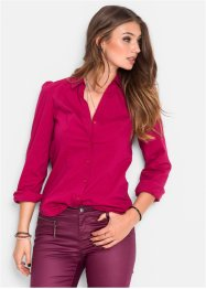 Blouse, RAINBOW, kersenrood