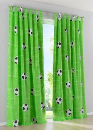 Gordijn met voetbalprint (1 stuk), bpc living bonprix collection