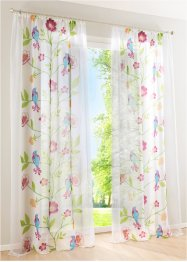Voile «Raja», bpc living, wit/multicolor