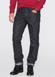 Jeans regular fit straight, RAINBOW, zwart