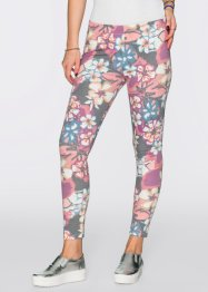 Legging, RAINBOW, roze gedessineerd