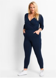 Jumpsuit, bpc bonprix collection, donkerblauw