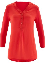 Shirtblouse, bpc selection, aardbeirood