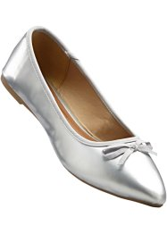 Ballerina's, bpc bonprix collection, zilverkleur