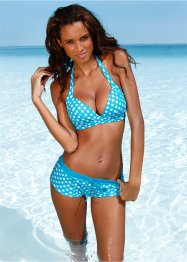 Push-up bikinitop, bpc bonprix collection, turkoois/wit