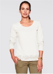 Longsleeve, bpc bonprix collection, wolwit