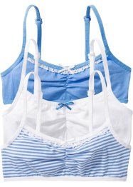 Bralette (set van 3), bpc bonprix collection