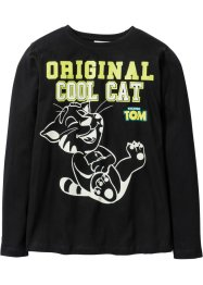 Longsleeve «TALKING TOM AND FRIENDS», Talking Tom and Friends, zwart