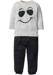 Longsleeve+sweatbroek (2-dlg. set), bpc bonprix collection