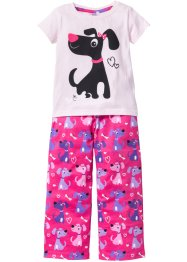 Pyjama (2-dlg.), bpc bonprix collection, roze/pink