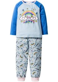Pyjama (2-dlg. set), bpc bonprix collection, lichtblauw
