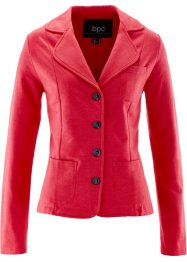 Sweatblazer, bpc bonprix collection, rood