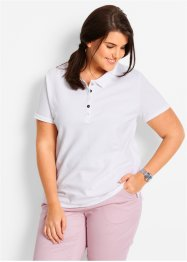Poloshirt, bpc bonprix collection, wit