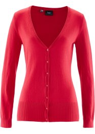 Gebreid vest, bpc bonprix collection, rood