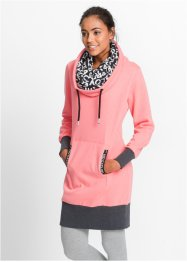 Sweatjurk, bpc bonprix collection, neonzalmkleur