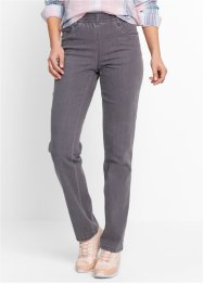 Stretchbroek (set van 2), bpc bonprix collection, grey denim+zwart
