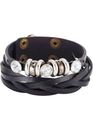 Armband 'Elisa', bpc bonprix collection, zwart