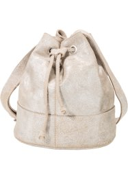 Tas, bpc bonprix collection, beige metallic