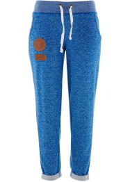 Joggingbroek, bpc bonprix collection, azuurblauw gemêleerd