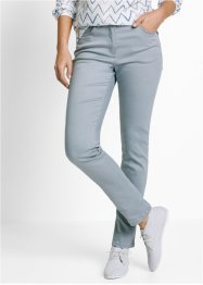 Superstretchjeans smal, bpc bonprix collection, zilvergrijs