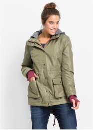 Functionele parka, bpc bonprix collection, olijfgroen