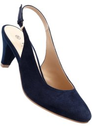 Slingpumps, bpc selection, donkerblauw