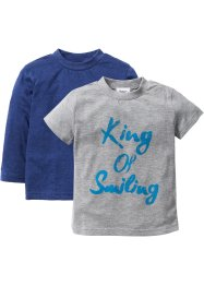 Longsleeve+T-shirt (set van 2), bpc bonprix collection