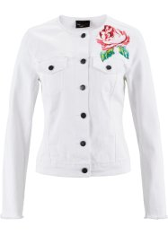 Jeansjack, bpc selection, white denim