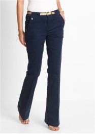 Stretchbroek bootcut, bpc selection, donkerblauw