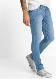 Stretchjeans SKINNY, RAINBOW, blue bleached used