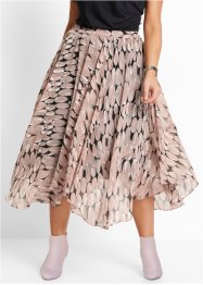 Rok, bpc selection, vintage roze gedessineerd