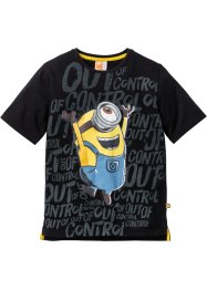 Shirt «Minions», Despicable Me, zwart