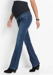 Zwangerschapsjeans flared, bpc bonprix collection, blue stone