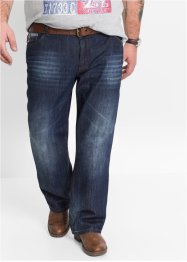 Jeans bootcut, John Baner JEANSWEAR, donkerblauw used