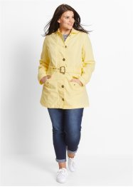 Trenchcoat, bpc bonprix collection, lichtgeel