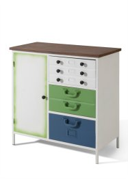 Commode «Tim», bpc living, wit/naturel