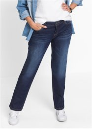 Stretchjeans STRAIGHT, John Baner JEANSWEAR, donkerblauw