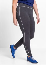 Functionele legging, bpc bonprix collection, leisteengrijs gemêleerd