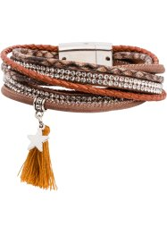 Wikkelarmband, bpc bonprix collection, cognac