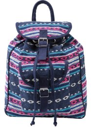 Rugzak, bpc bonprix collection, blauw/pink